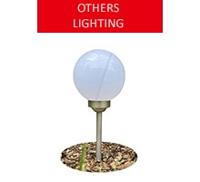 Solar garden lamp, light ball